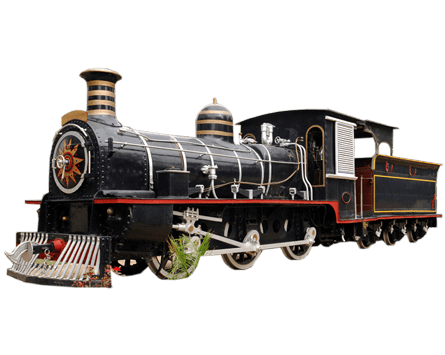 Steam Train transparent PNG.
