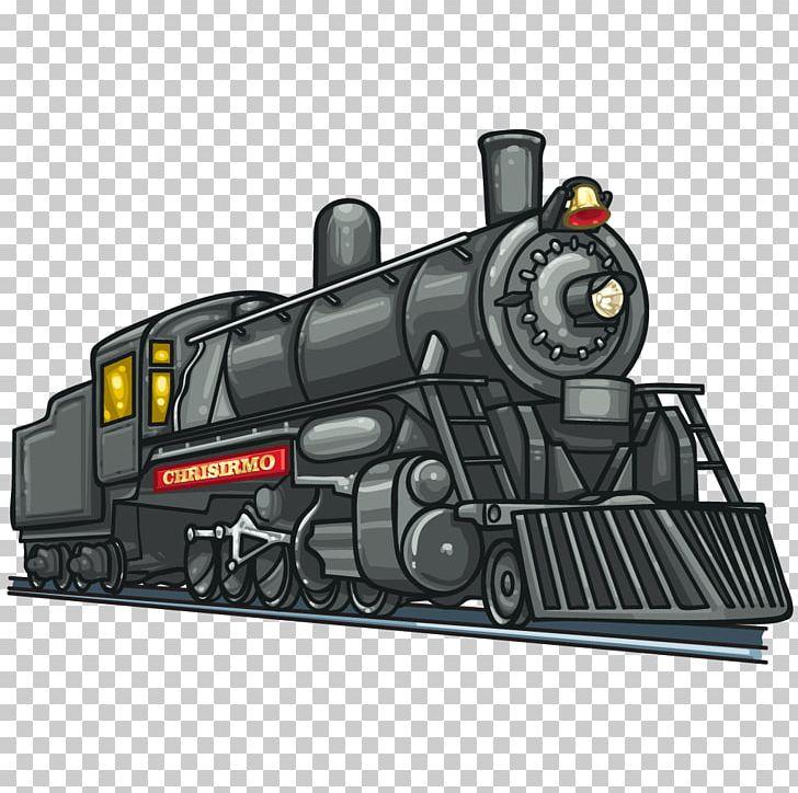 Train Steam Engine Steam Locomotive Rail Transport PNG.