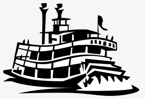 Free Steamboat Clip Art with No Background , Page 2.