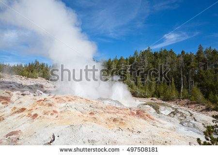 """geyser Formations"""" Stock Photos, Royalty."""