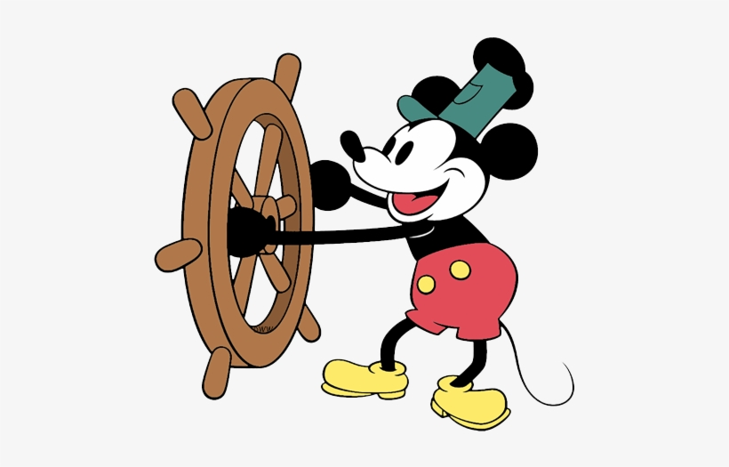 Classic Mickey Mouse Clip Art.