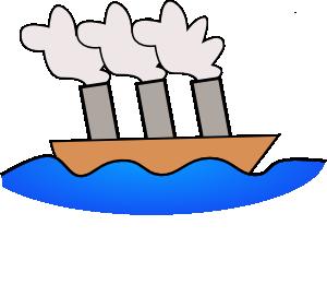 Steamer Boat Clip Art at Clker.com.