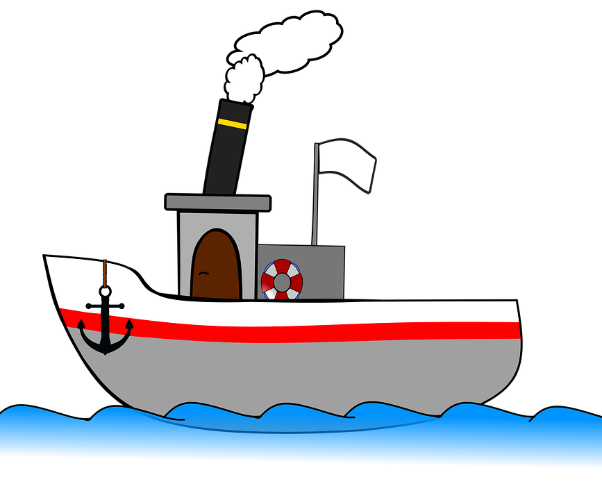 Clip art Steamboat Steamship.