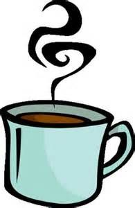 Steaming Coffee Cup Clip Art.