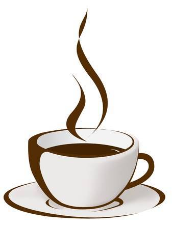Steaming cup of coffee clipart » Clipart Portal.