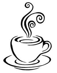 Image result for how to draw a coffee cup with steam.