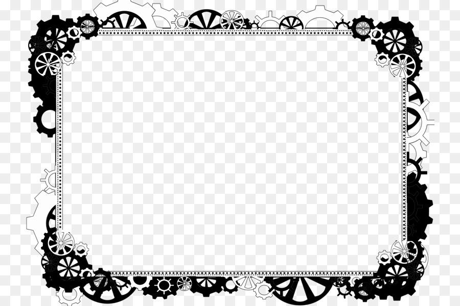 Border Black And White clipart.