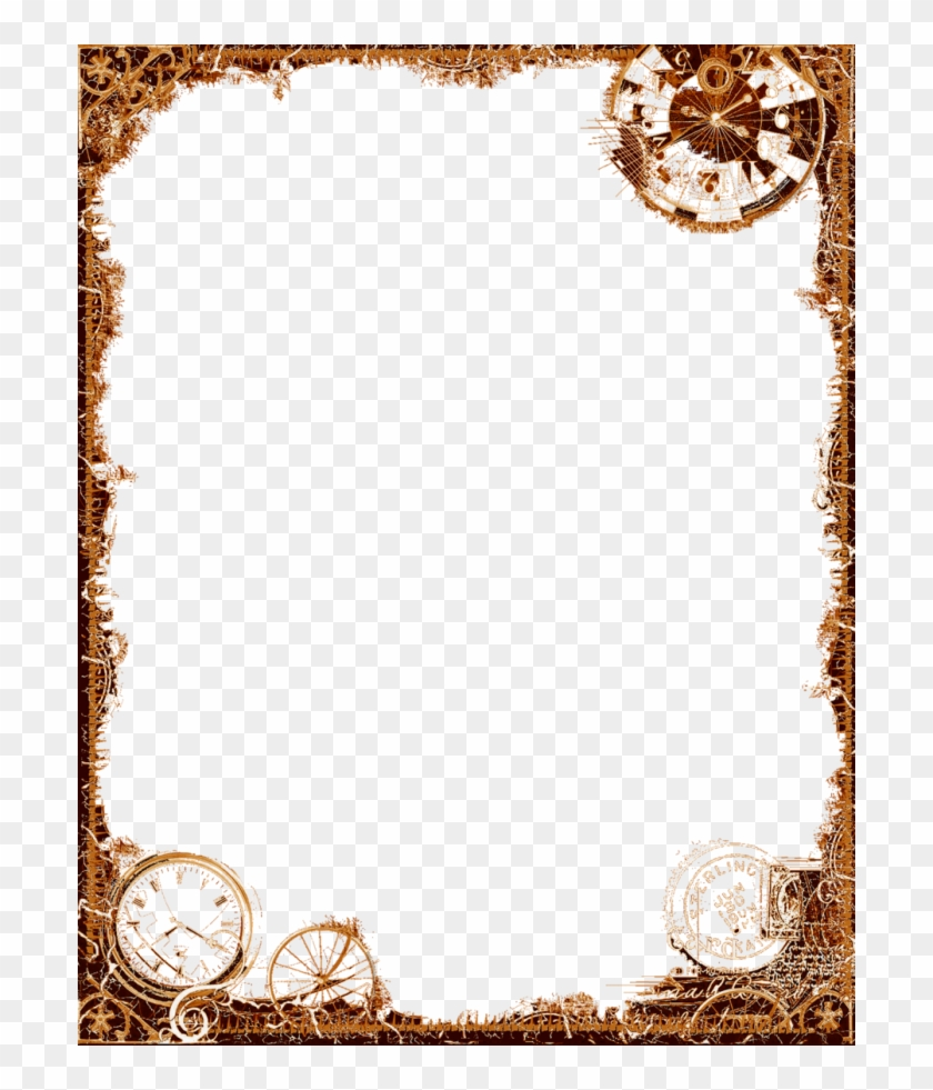 Steampunk Frame Png.