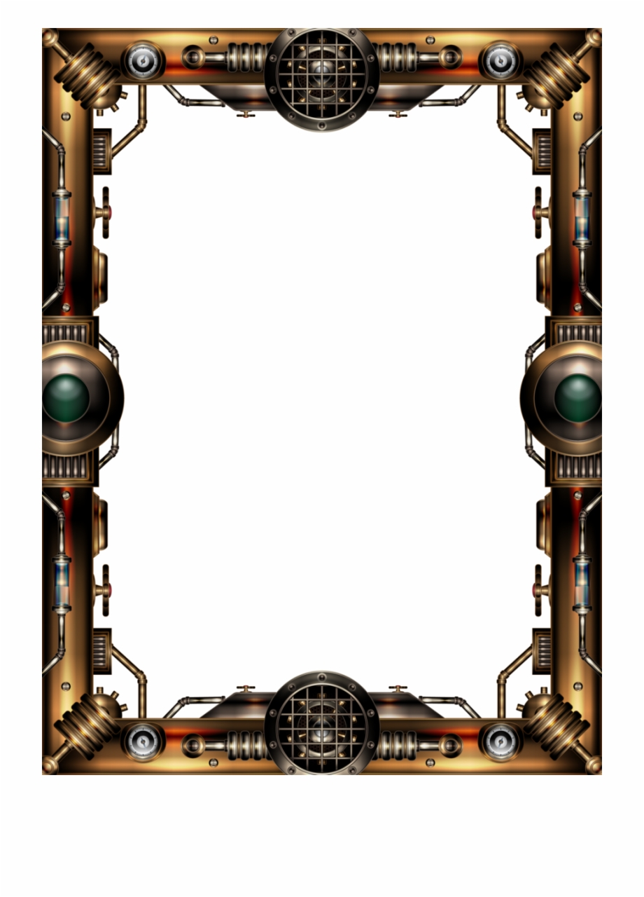 Steampunk Frame Png Free PNG Images & Clipart Download.