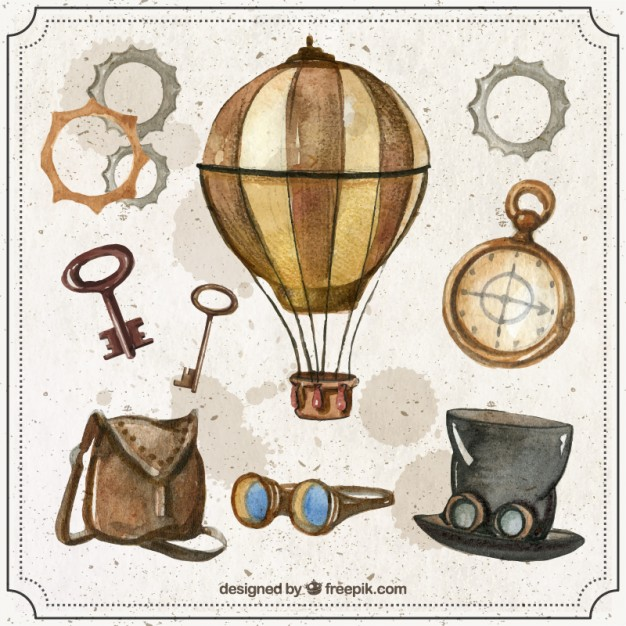 Steampunk Vectors, Photos and PSD files.