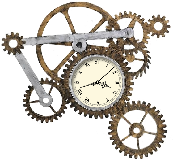 Steampunk Gear PNG Images Transparent Free Download.