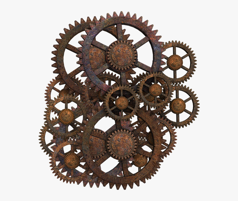 Download Steampunk Gear Png Clipart.