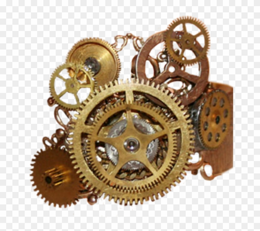 Transparent Steampunk Gears, HD Png Download.