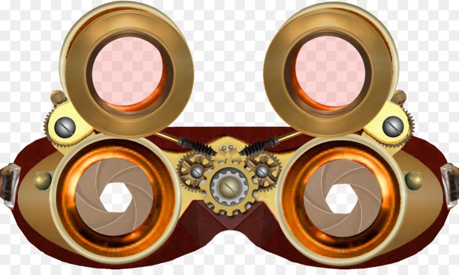steampunk goggles transparent clipart Steampunk Goggles Clip.