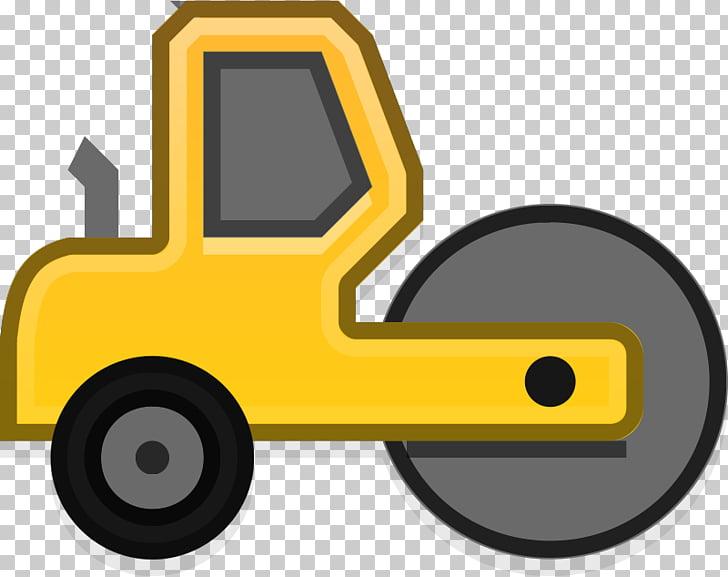 Steamroller Caterpillar Inc. Heavy Machinery Road roller.