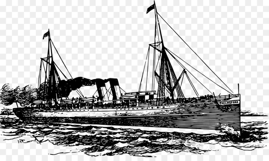 Ship Cartoon png download.