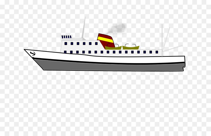 Passenger ship Water transportation Clip art.