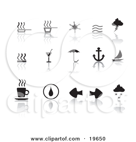 Steamy water clipart #5