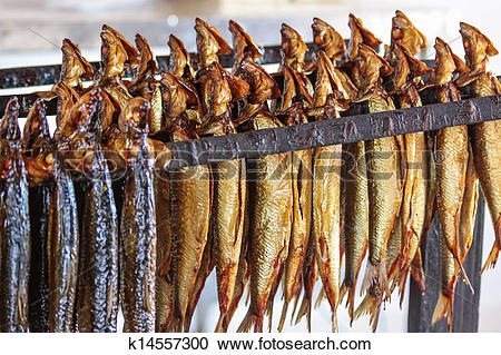 Stock Photography of Smoked fish k14557300.