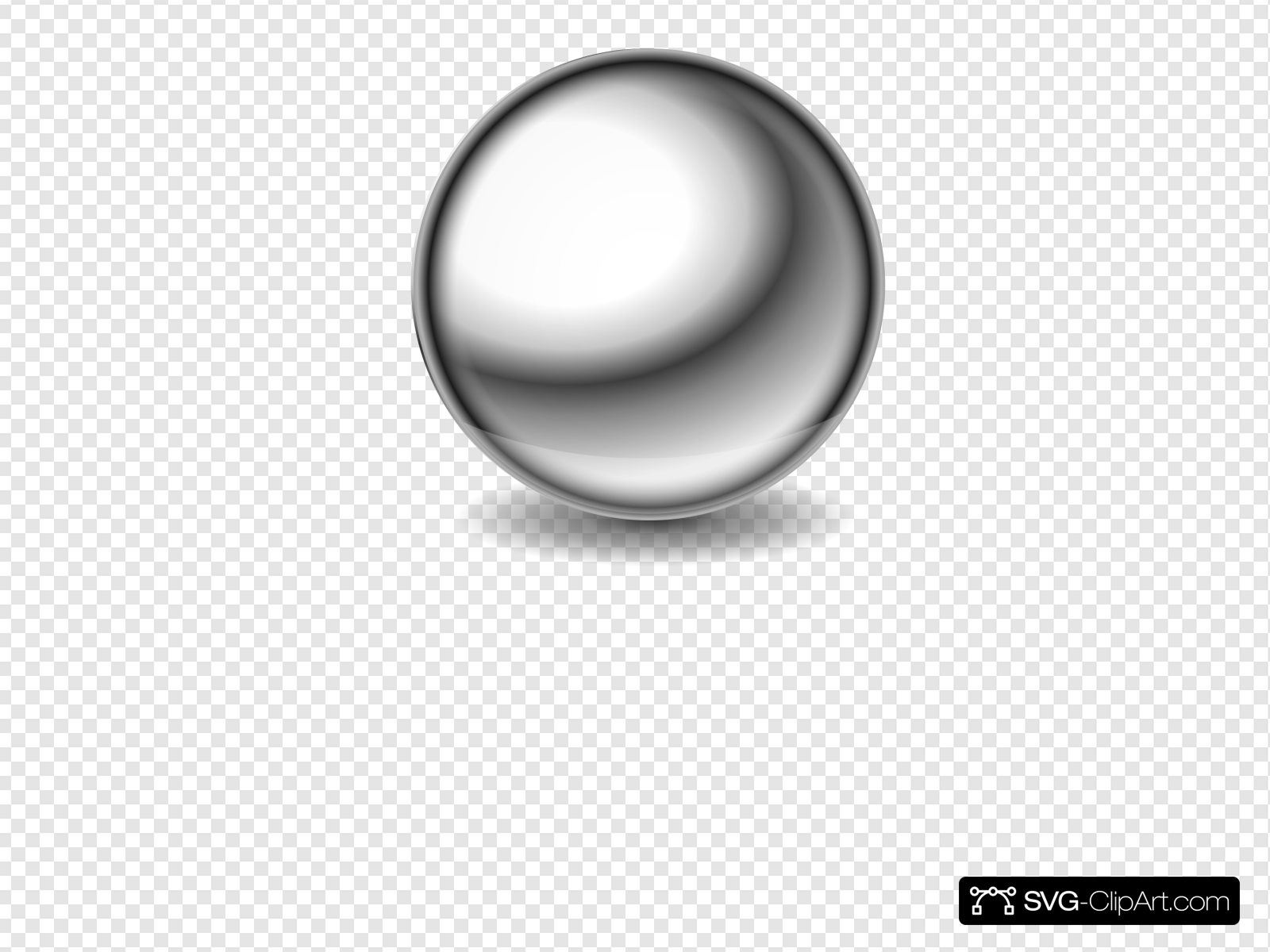 Steel Ball Clip art, Icon and SVG.