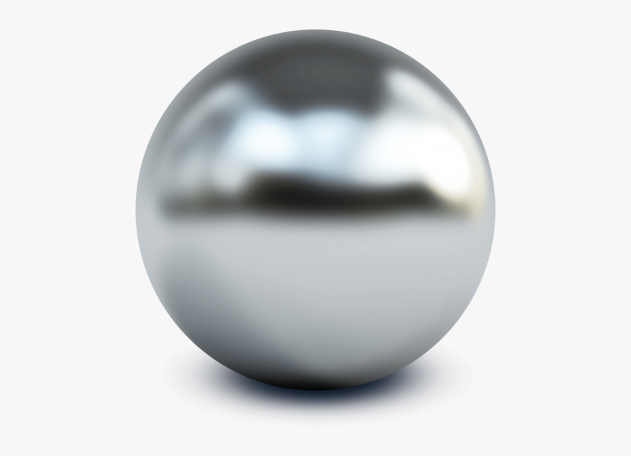 Silver Ball Png.