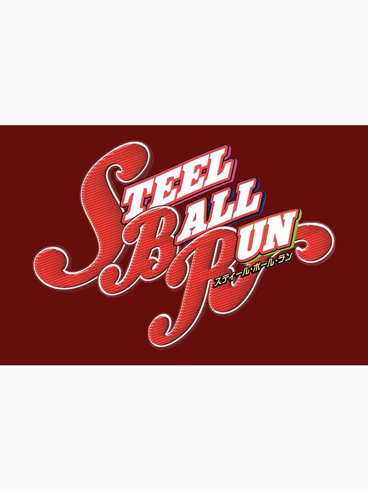 Steel Ball Run Jojo\'s Bizarre Adventure.