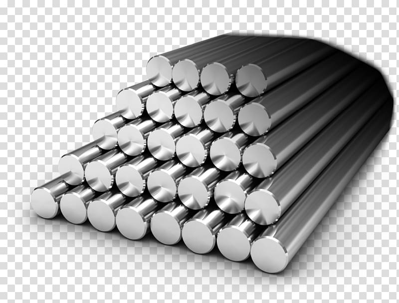 Stainless steel Bar Metal, steel transparent background PNG.