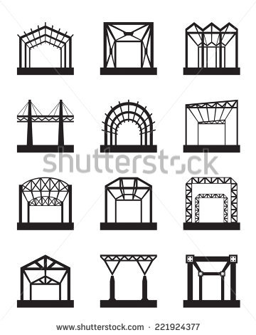 Steel Construction Stock Photos, Royalty.