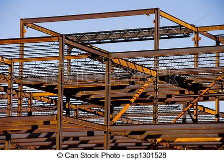 Steel Construction Clipart.