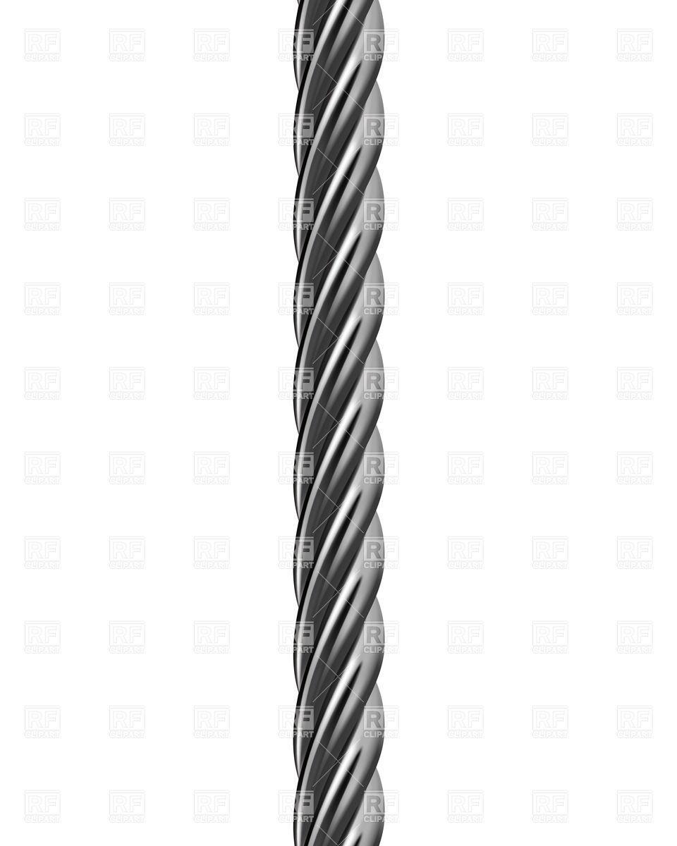 Metal cable Vector Image #27703.