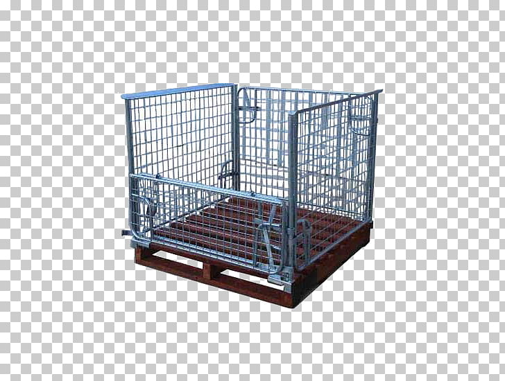 Perth Cage Pallet Stillage Steel, steel cage PNG clipart.