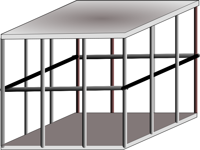Free Clipart: Metal cage.