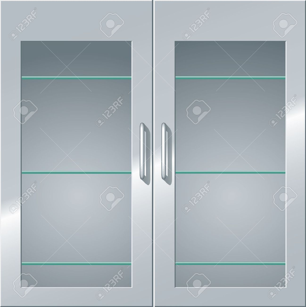 Steel Door Clipart Clipground