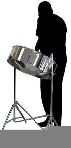 Steel Drum Clipart.