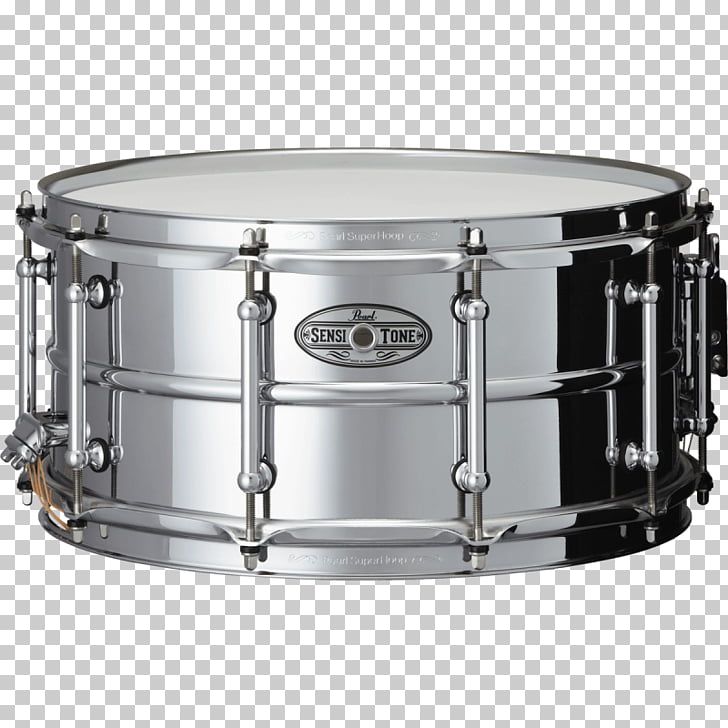 Snare Drums Pearl Steel, drum PNG clipart.
