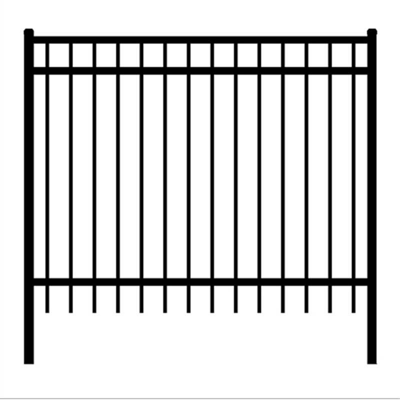 Maiestic Style Steel Fence.