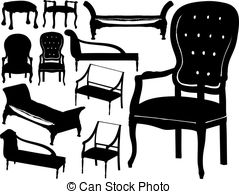 Chairs Vector Clipart EPS Images. 35,237 Chairs clip art vector.