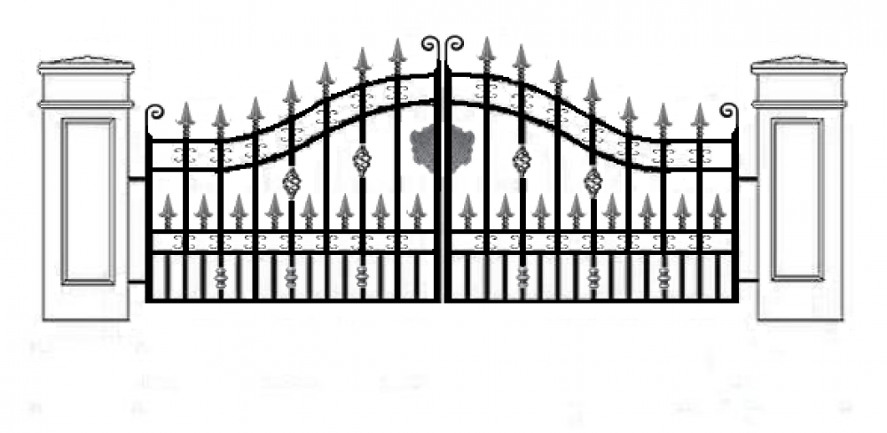 Open Gate PNG Transparent Open Gate.PNG Images..