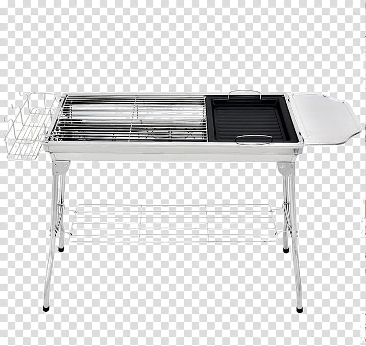 Barbecue Furnace Kebab Charcoal Gridiron, Stainless steel.