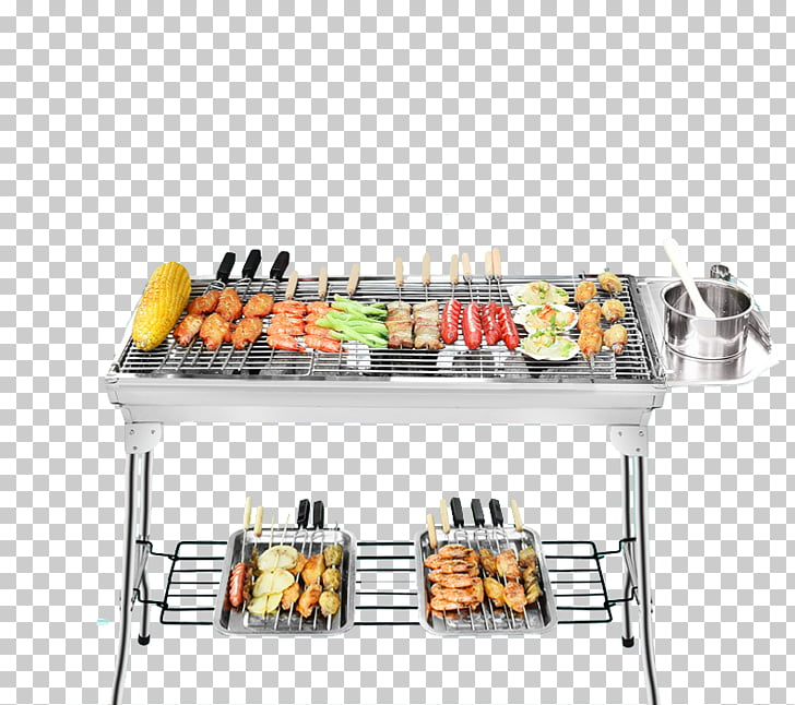 Barbecue grill Kebab Chuan Tikka Grilling, Stainless steel.