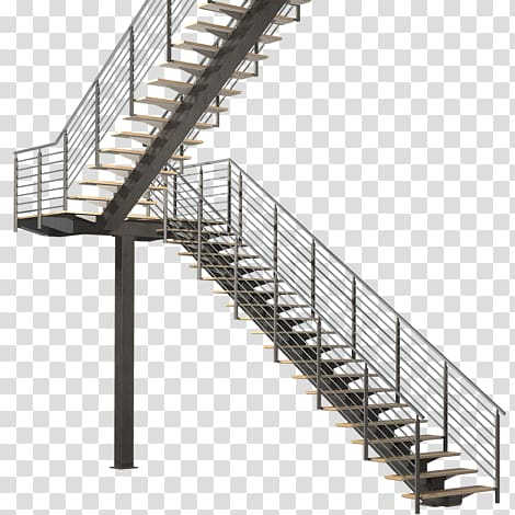 Handrail Stairs Steel Architectural engineering Facade.