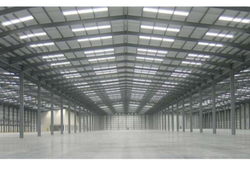 Prefabricated Factory Shed at Best Price in India.