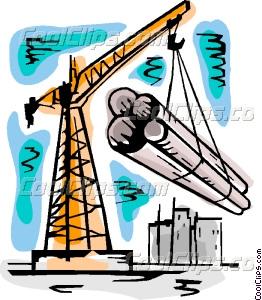 Cranes Vector Clip art.