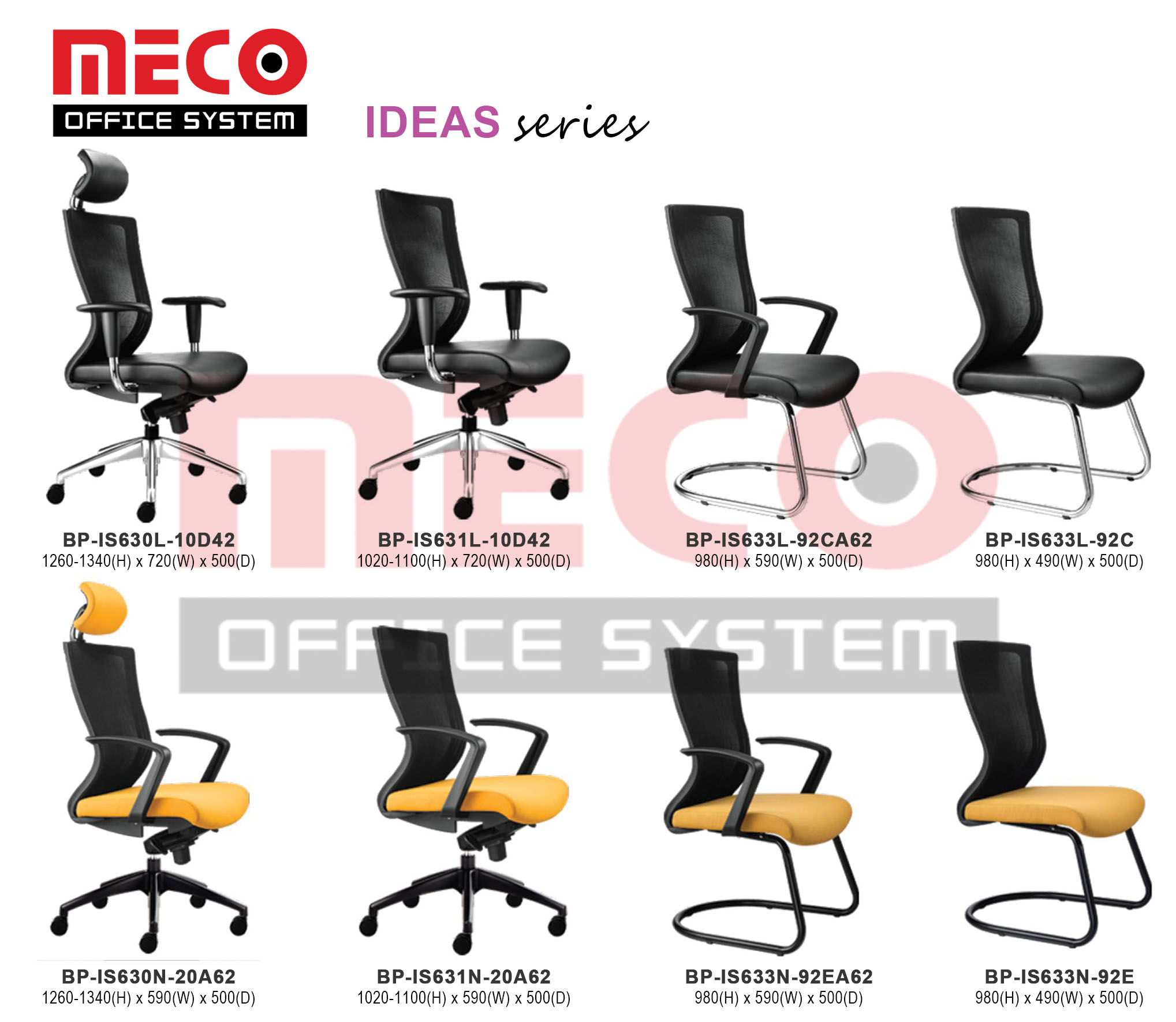 MECO OFFICE SYSTEM Malaysia office furniture supplier manufactured.