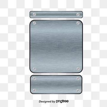 Steel Plate PNG Images.