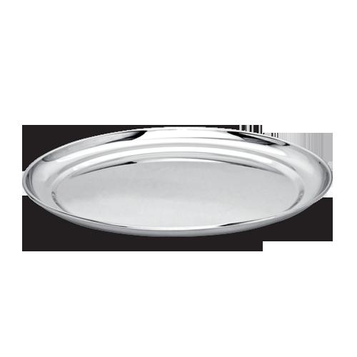 Stainless Steel Rajbhog Plate.
