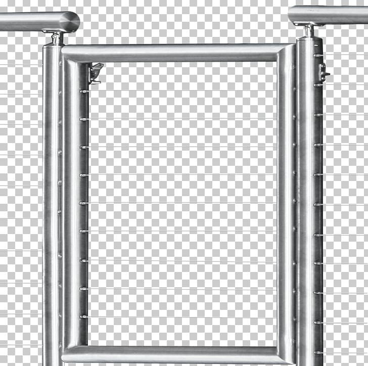 Guard Rail Stainless Steel Cable Railings Deck Railing PNG.