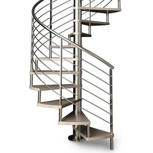 Spiral Steel Railing.