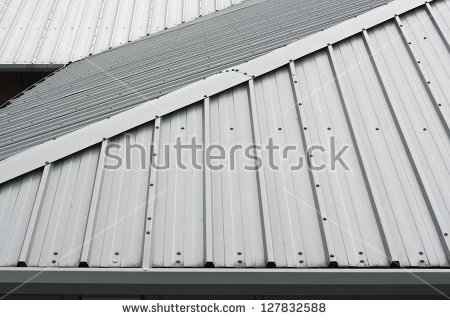 Metal Roof Stock Photos, Royalty.