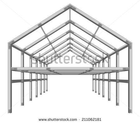 Metal Building Frame Stock fotos, billeder til fri afbenyttelse og.